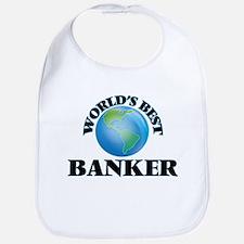 World's Best Banker Bib
