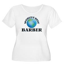 World's Best Barber Plus Size T-Shirt