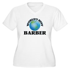 World's Best Barber Plus Size T-Shirt