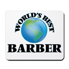 World's Best Barber Mousepad