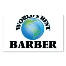 World's Best Barber Decal