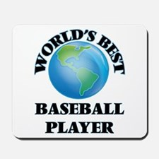 World's Best Baseball Player Mousepad