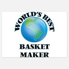 World's Best Basket Maker Invitations