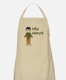 Why Worry? BBQ Apron