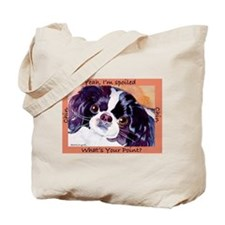 Japanese Chin Cute Things Tote Bag