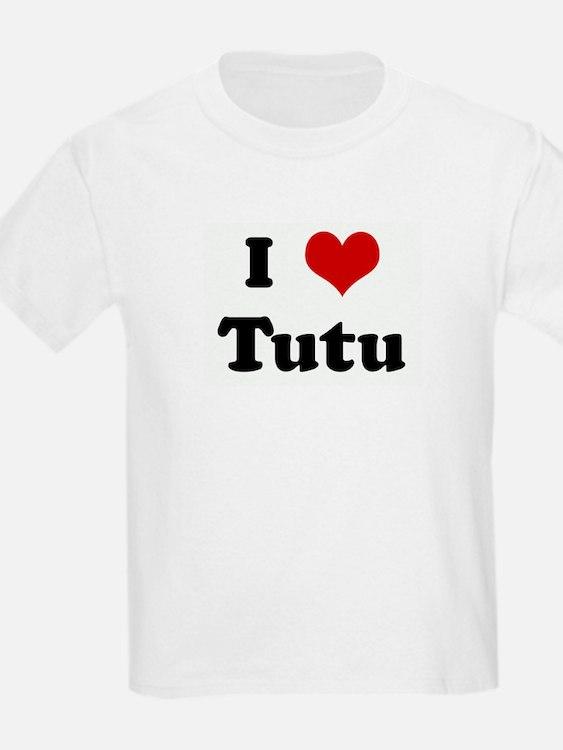 I Love Tutu T-Shirt