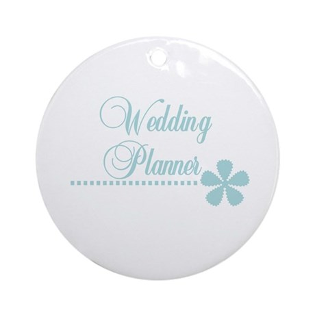 Wedding Planner Ornament (Round)