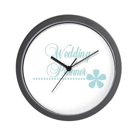 Wedding Planner Wall Clock