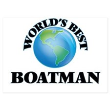 World's Best Boatman Invitations