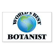 World's Best Botanist Decal