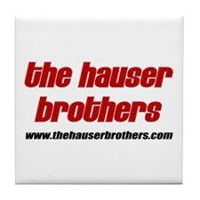 The Hauser Brothers Tile Coaster