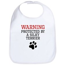 Protected By A Silky Terrier Bib