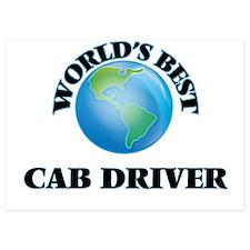 World's Best Cab Driver Invitations