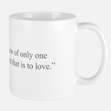 I know of only one duty and that is to love Mugs