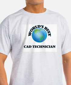 World's Best Cad Technician T-Shirt