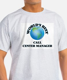 World's Best Call Center Manager T-Shirt