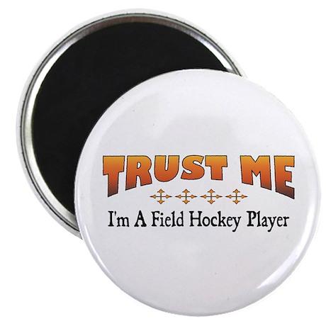 "Trust Field Hockey Player 2.25"" Magnet (100 p"