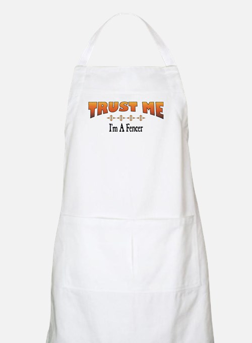 Trust Fencer BBQ Apron