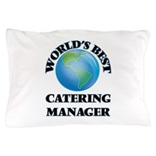 World's Best Catering Manager Pillow Case