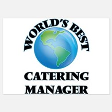 World's Best Catering Manager Invitations