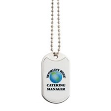 World's Best Catering Manager Dog Tags