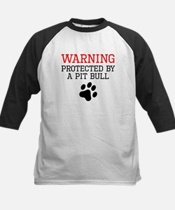 Protected By A Pit Bull Baseball Jersey