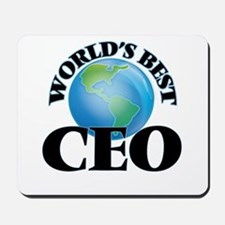 World's Best Ceo Mousepad