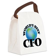World's Best Cfo Canvas Lunch Bag