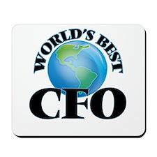 World's Best Cfo Mousepad
