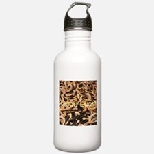 Good Luck,Horseshoes-YOUR TEXT Water Bottle