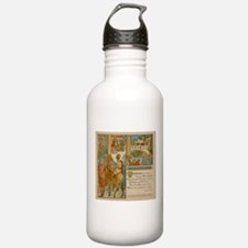 The Man That Please None - Aesop 1887 Water Bottle