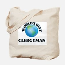 World's Best Clergyman Tote Bag