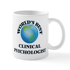 World's Best Clinical Psychologist Mugs