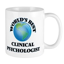 World's Best Clinical Psychologist Mugs