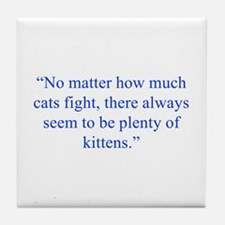 No matter how much cats fight there always seem to