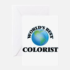 World's Best Colorist Greeting Cards
