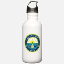 U.S. Navy Base Guam Water Bottle