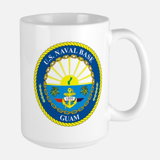 U.S. Navy Base Guam Mugs