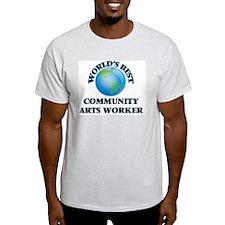 World's Best Community Arts Worker T-Shirt