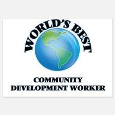 World's Best Community Development Wor Invitations
