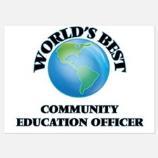 World's Best Community Education Offic Invitations