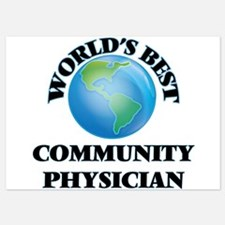 World's Best Community Physician Invitations