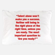 Talent alone won t make you a success Neither will