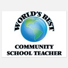 World's Best Community School Teacher Invitations