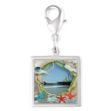 Pier Beach Collage Charms