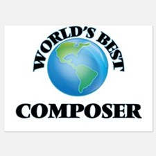 World's Best Composer Invitations
