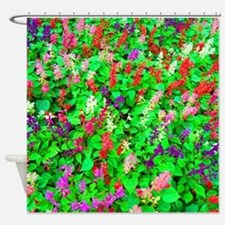 All The Pretty Flowers Shower Curtain