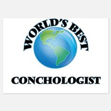 World's Best Conchologist Invitations