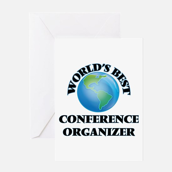 World's Best Conference Organizer Greeting Cards
