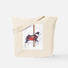 Carousel Mertle Great Dane Tote Bag
